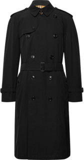 Westminster Cotton-gabardine Trench Coat - Black