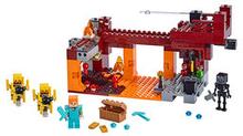 21154 Minecraft Den flammande bron
