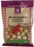 Urtekram Ekologiska Macadamiannötter Havssalt 65 g