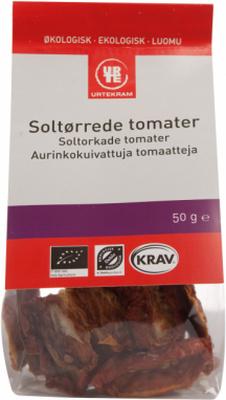 Urtekram Soltorkade Tomater EKO 50 g