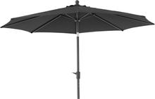 Taranto parasoll Antracit/svart 3 m