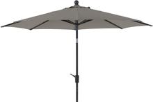 Taranto parasoll Antracit/grå 3 m