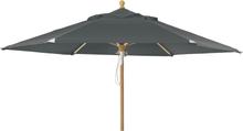Trieste parasoll Grå 2,5 m