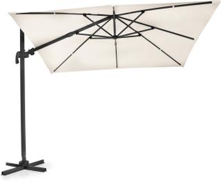 Linz parasoll Svart/beige 3X3 m