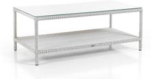 Loria soffbord Vit 122x63 cm