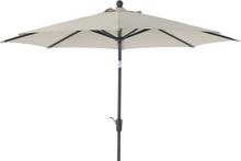 Florens parasoll Antracit/beige 2,75 m