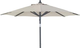 Malta parasoll Antracit/beige 2 m