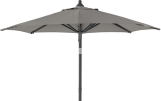 Malta parasoll Antracit/grå 2 m
