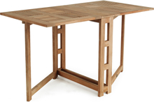 Arosa klaffbord Teak 130x70 cm