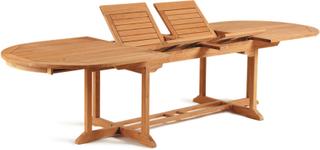 Grenada matbord Förstklassig teak 220-270-320x110 cm