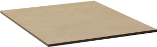 Laminatskiva bordsskiva Beige 70x70 cm