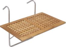 Chess balkongbord Teak 80x50 cm