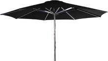 Empoli parasoll Silver/svart 3,5 m