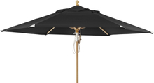 Parma parasoll Svart 3,5 m