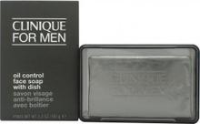 Clinique Clinique Men Oil Control Face Soap (Med Tvålkopp) 150g