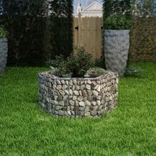 vidaXL Hexagonal planteringsgabion 100x90x50 cm