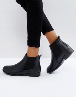 Boohoo Flat Chelsea Boot