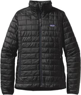 Patagonia Women's Nano Puff Jacket Dame syntetjakker mellomlag Sort XS