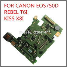 100% NEW original powerboard for canon EOS 750D Rebel T6i Kiss X8i 750D power board dslr Camera repair parts free shipping