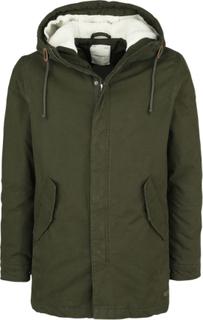 Produkt - Parka 007 Teddy Jacket -Vinterjakke - olivengrønn