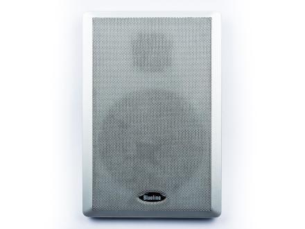 Blueline flat høyttalere for Dolby Atmos 2 måte, 40 watt par sølv