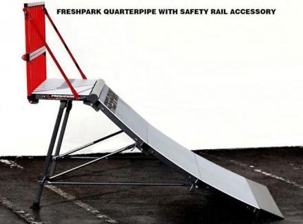 Freshpark Quaterpipe 4 fot Safety tog Kit