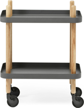 Normann Copenhagen Block Table Dark grey