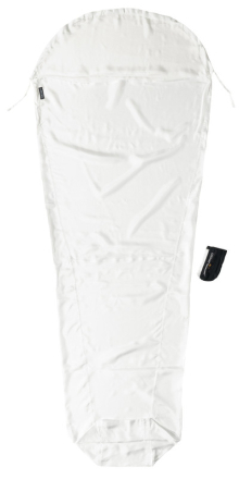 Cocoon MummyLiner Econ Line Silk Natural Silk 2019 Reselakan, Täcken & Liners