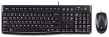 MK120 Desktop - RUS - Tastatur & Mus set - Ryska - Svart