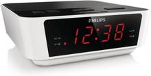 Klockradio Philips AJ3115/12 LED FM 1W Vit