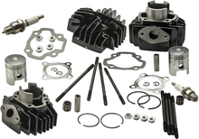 Compatible for YAMAHA PW 50 PW50 QT 50 QT50 Cylinder Piston Ring Gasket Set Kit 40mm New