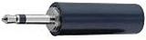Teleplugg 2,5mm mono för lödning