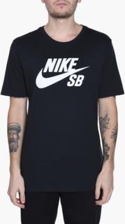 Nike SB - Sb Logo Tee - Svart - S