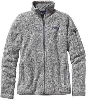 Patagonia Women's Better Sweat Jacket Dame mellanlager tröjor Grå XL