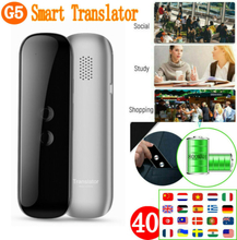 G5 Translaty Muama Enence 40 Languages Smart Translator Instant Voice Photograph Real-time Interactive Voice Translator