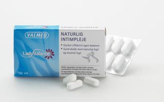 Ladybalance Vaginaltabletter, 24stk.