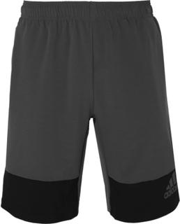 Adidas Sport - Colour-block Climalite Shorts - Gray - S,Adidas Sport - Colour-block Climalite Shorts - Gray - L,Adidas Sport - Colour-block Climalite Shorts - Gray - M,Adidas Sport - Colour-block Climalite Shorts - Gray - XXL,Adidas Sport - Colour-block C