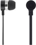 Deltaco in-ear hörlurar med mikrofon, svarsknapp,