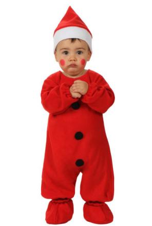 Tomtedräkt för bebisar - Juldräkt