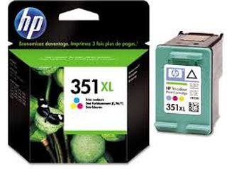 Bläckpatron HP 351XL (CB338EE) 3-färg 13ml