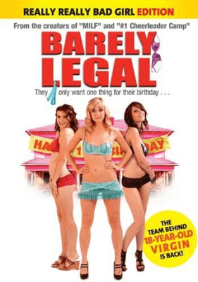 Barely legal (dvd)