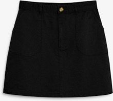 A-line mini skirt - Black