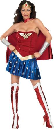 Wonder Woman - utklädnad vuxen Small (38)