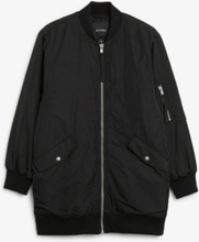 Oversized bomber jacket - Black