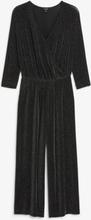 Wrap jumpsuit - Black