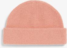 Wool blend beanie - Pink