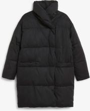 Oversized puffer coat - Black