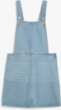 Denim dungaree dress - Blue