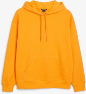 Soft drawstring hoodie - Orange
