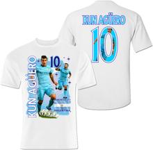 Kun aguero tshirt manchester city & argentina 10